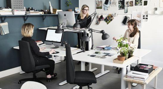 Ikea kann auch Büro. Abbildung: Ikea Schweiz