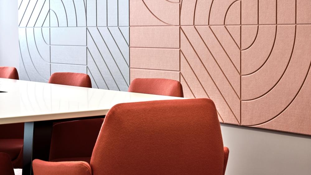 Insgesamt bewegt sich das Spektrum der Bürofarben eher im Pastellton-Bereich. Abbildung: Rita Pauchard