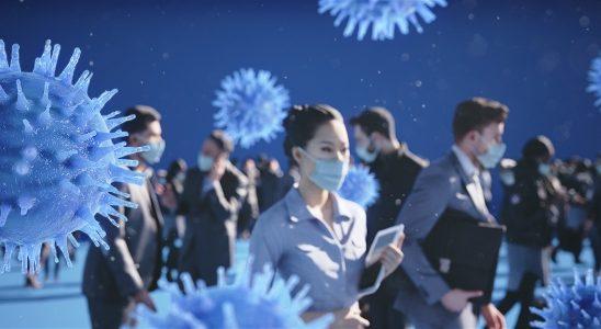 Die Sorge vor dem Coronavirus ist groß: Präventive Luftbefeuchtung könnte seine Verbreitung deutlich reduzieren. Abbildung: ©Hugentobler