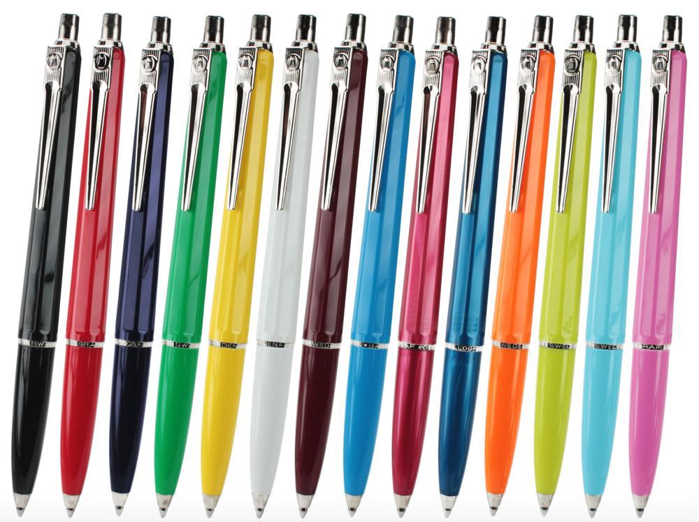 In den 1950er-Jahren wird der Kugelschreiber zum Massenprodukt und erobert auch Schulen und Büros. Abbildung: Ballograf