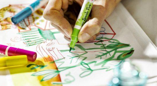 Die Ecoline-BrushPens von Talens eignen sich perfekt für das kunstvolle Gestalten von Schriftzügen. Abbildung: Talens AG