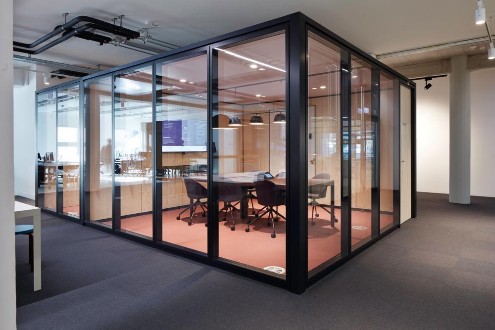 Cubes für Meetings und Präsentationen. Abbildung: EF Education