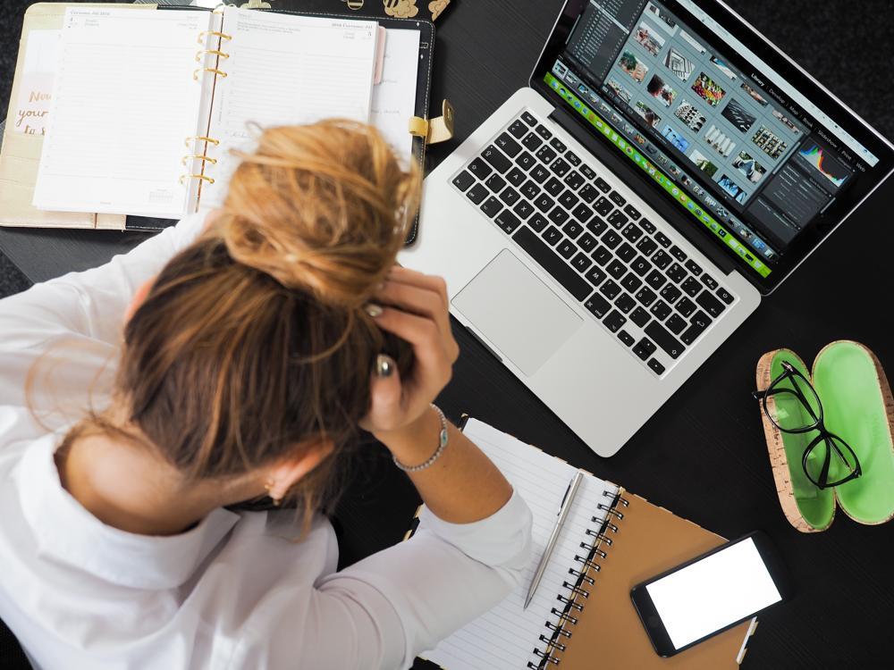 Nicht auffindbare Daten können leicht zu unnötigem Stress führen. Abbildung: energepic.com/Pexels