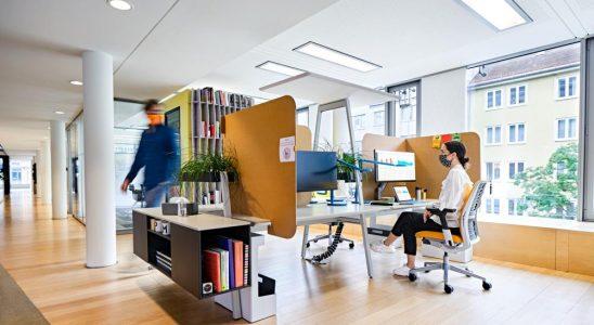 Viele Mitarbeiter sehnen sich nach einer Rückkehr ins Büro. Abbildung: Steelcase